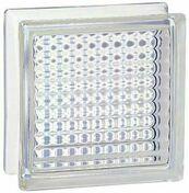 Brique de verre 198 ép.8cm dim.19x19cm quadrillee - Briques de verre - Isolation & Cloison - GEDIMAT