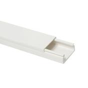 Moulure de distribution électrique long.2m coloris blanc larg.22mm ép.10mm vendue à la longueur - Margelle piscine d'angle intérieur FOURAS dim.50x50x31cm rayon.15cm coloris blanc cassé - Gedimat.fr