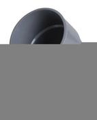 Coude PVC d'évacuation d'eau usée NICOLL mâle-femelle diam.100mm angle 45° coloris gris - Gravier décoratif PORPHYRE 3-15mm sac de 40 kg coloris rouge - Gedimat.fr