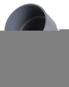 Coude PVC d'évacuation d'eau usée NICOLL femelle-femelle diam.125mm coloris gris angle 45° - Tuile à douille STANDARD 14 diam.120mm coloris rouge ancien - Gedimat.fr