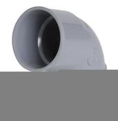 Coude PVC d'évacuation d'eau usée NICOLL femelle-femelle diam.32mm angle 67°30 coloris gris - Faîtière à bourrelet à emboîtement coloris rouge ancien - Gedimat.fr