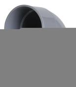 Coude PVC d'évacuation d'eau usée NICOLL femelle-femelle diam.125mm coloris gris angle 67°30 - Raccord laiton droit femelle diam.15x21mm pour tube polyéthylène réticulé PER diam.16mm en sachet de 10 pièces - Gedimat.fr