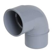 Coude PVC d'évacuation d'eau usée NICOLL mâle-femelle diam.40mm angle 87°30 coloris gris - Panneau rayonnant Tracy 2000 W. - Gedimat.fr