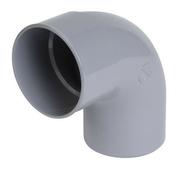 Coude PVC d'évacuation d'eau usée NICOLL mâle-femelle diam.100mm angle 87°30 coloris gris - Chaînage plat section 4x10 cm larg.10cm 2 aciers HA10 long.6m - Gedimat.fr