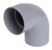 Coude PVC d'évacuation d'eau usée NICOLL mâle-femelle diam.125mm angle 87°30 coloris gris - Carport simple en aluminium toit plat long.5 m larg.2,94 m - Gedimat.fr