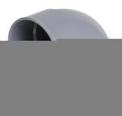 Coude PVC d'évacuation d'eau usée NICOLL mâle-femelle diam.160mm angle 87°30 coloris gris - Té cuivre égal à souder femelle femelle 5130 diam.12mm en vrac 1 pièce - Gedimat.fr