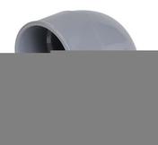 Coude PVC d'évacuation d'eau usée NICOLL femelle-femelle diam.40mm angle 87°30 coloris gris - Volet battant PVC ép.24mm blanc 2 vantaux haut.1,55m larg.90cm - Gedimat.fr