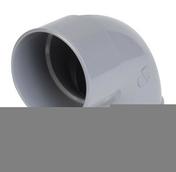 Coude PVC d'évacuation d'eau usée NICOLL femelle-femelle diam.63mm angle 87°30 coloris gris - Double rive 3/4 pureau pour tuiles DC12 coloris rose - Gedimat.fr