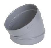 Secteur de coude PVC d'évacuation d'eau usée NICOLL mâle-femelle diam.100mm angle 30° coloris gris - Patte d'ancrage pour briques POROTHERM paquet de 250 pièces - Gedimat.fr