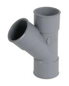 Culotte PVC d'évacuation d'eau usée NICOLL femelle-femelle diam.32mm angle 45° coloris gris - Faîtière à bourrelet à emboîtement coloris rouge ancien - Gedimat.fr
