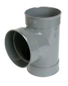 Culotte PVC d'évacuation d'eau usée NICOLL femelle-femelle diam.200mm angle 87°30 coloris gris - GEDIMAT - Matériaux de construction - Bricolage - Décoration