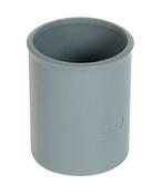 Manchon PVC NICOLL femelle-femelle à butée intérieure diam.40mm coloris gris - Fourrure acier galvanisé PREGYMETAL S47/6 long.3m - Gedimat.fr