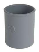 Manchon PVC NICOLL femelle-femelle à butée intérieure diam.50mm coloris gris - Lanterne diam.100mm pour tuiles TERREAL coloris val de loire flammé - Gedimat.fr