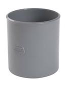 Manchon PVC NICOLL femelle-femelle à butée intérieure diam.100mm coloris gris - Carrelage pour mur en faïence brillante BLANCO larg.25cm long.40cm, coloris blanc - Gedimat.fr
