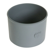 Manchon PVC NICOLL femelle-femelle à butée intérieure diam.160mm coloris gris - Porte seule SOUND 204x83cm blanc structuré - Gedimat.fr