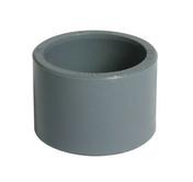 Réduction incorporée PVC NICOLL mâle diam.40mm femelle diam.32mm coloris gris - Manchon égal pour raccord multicouche à compression tube diam.20mm - Gedimat.fr