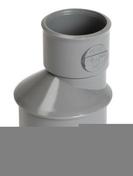 Réduction extérieure PVC NICOLL mâle diam.50mm femelle diam.32mm coloris gris - Faîtière à emboîtement avec clip RESIDENCE coloris vieilli navarre - Gedimat.fr