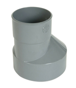 Réduction extérieure PVC NICOLL mâle diam.80mm femelle diam.32mm coloris gris - Fronton croix occitane coloris Saintonge - Gedimat.fr