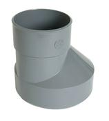 Réduction extérieure PVC NICOLL mâle diam.200mm femelle diam.125mm coloris gris - Gaine souple PVC gris diam.125mm long.6m - Gedimat.fr