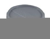 Tampon de visite avec bouchon vissé PVC Nicoll mâle-femelle diam.63mm coloris gris - Pince pour chevilles diam.4 à 6mm - Gedimat.fr