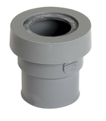 Manchette PVC NICOLL femelle-femelle à joint pour sortie d'appareil sanitaire diam.40mm coloris gris - Trépied universel sur quatre pieds pour chauffe-eau - Gedimat.fr