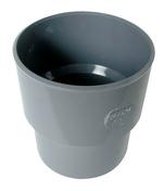 Manchette de réparation PVC NICOLL mâle-femelle diam.100mm coloris gris - Carrelage pour sol intérieur en grès cérame émaillé SINOPE dim.45x45cm coloris gris - Gedimat.fr