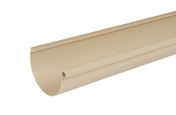 Gouttière PVC demi-ronde LG25S coloris sable long.4m - Tube de coffrage carré SONOTUBE 30x30cm haut.3m - Gedimat.fr
