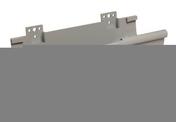 Naissance centrale à dilatation pour gouttière PVC de 25 NICOLL NAD25 coloris gris - Plaque de plâtre + plomb BA13 KNAUF RX ép.14,5mm larg.0,60m long.2,00m - Gedimat.fr