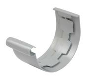Jonction à coller pour gouttière PVC de 25 NICOLL JNC25 coloris gris - Plaque de plâtre + plomb BA13 KNAUF RX ép.14,5mm larg.0,60m long.2,00m - Gedimat.fr