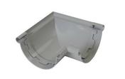 Angle intérieur/extérieur à 90° pour gouttière PVC NICOLL ANC25 à coller de 25 coloris gris - Traversée de cloison laiton fileté diam.20x27mm long.100mm sous coque de 1 pièce - Gedimat.fr