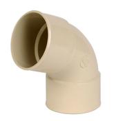 Coude PVC pour tube de descente de gouttière NICOLL diam.80mm angle 67°30 femelle femelle coloris sable - Tube de coffrage carré SONOTUBE 30x30cm haut.3m - Gedimat.fr