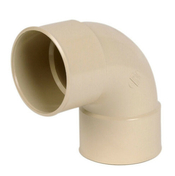 Coude PVC pour tube de descente de gouttière NICOLL diam.80mm angle 87°30 femelle femelle coloris sable - Poutrelle en béton LEADER 113 haut.11cm larg.9,5cm long.3,60m - Gedimat.fr