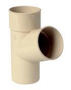 Culotte PVC pour tube de descente de gouttière NICOLL diam.80mm angle 67°30 mâle femelle coloris sable - Volet battant PVC ép.24mm blanc 2 vantaux haut.1,45m larg.1,00m - Gedimat.fr