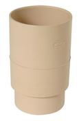 Manchon PVC femelle femelle pour tube de descente de gouttière diam.80mm coloris sable - Feuille de stratifié HPL avec Overlay ép.0.8mm larg.1,30m long.3,05m décor Laser finition Perlé - Gedimat.fr