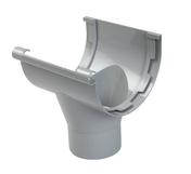 Naissance centrale à coller pour gouttière PVC de 33 NICOLL NAC33 coloris gris - Spatule de peintre type américain lame inox larg.127mm - Gedimat.fr