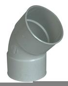 Coude PVC pour tube de descente de gouttière NICOLL diam.100mm angle 45° femelle femelle coloris gris - Bois Massif Abouté (BMA) Sapin/Epicéa traitement Classe 2 section 75x200 long.9,50m - Gedimat.fr