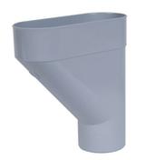 Cuvette de branchement type jambonneau PVC pour tube de descente de gouttière diam.100mm coloris gris - Doublage isolant plâtre PV+ polystyrène PREGYMAX 29,5 ép.13+86mm larg.1,20m long.2,50m - Gedimat.fr