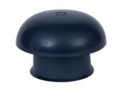 Chapeau de ventilation simple sans moustiquaire NICOLL pour tuyau PVC diam.100mm coloris ardoise - Porte de garage coulissante en bois de sapin - Gedimat.fr - Gedimat.fr