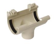 Naissance centrale à joint pour gouttière PVC de 16 NICOLL NC16S coloris sable - Bloc-porte coupe-feu EI30 (1/2h) avec serrure huisserie de 66x55mm haut.2,04m larg.73cm droit poussant - Gedimat.fr