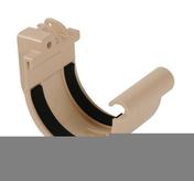 Jonction à joint pour gouttière PVC de 16 NICOLL JN16B coloris blanc - Mamelon acier galvanisé 246 femelle diam.26x34mm réduit mâle diam.15x21mm - Gedimat.fr