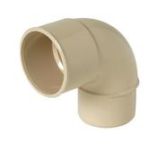Coude PVC pour tube de descente de gouttière NICOLL diam.50mm angle 87°30 mâle femelle coloris sable - Poignée de fermeture pour coffrage geotube Toffolo - Gedimat.fr