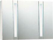 Armoire de toilette long.98,8cm haut.70cm prof.18cm BRILLANCE DECOTEC blanc - Armoires de toilette et Accessoires - Salle de Bains & Sanitaire - GEDIMAT