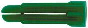 Cheville à expansion multi-usages P8C PVB polypropylène rouge diam.8mm long.34mm 100 pièces - Naissance droite en zinc naturel pour gouttière demi-ronde de 33 avec boudin de 18 mm - Gedimat.fr