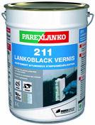 Peinture noire bitumineuse en phase solvant 211 LANKOBLACK VERNIS pot de 5L - Gedimat.fr