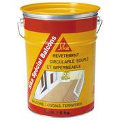 Revêtement imperméable SIKA SPECIAL BALCONS seau de 6kg beige - About de faîtage droit pour rives verticales de tuiles ROMANE-CANAL coloris brun rustique - Gedimat.fr