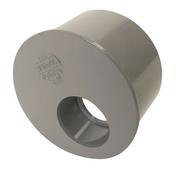 Tampon de réduction simple PVC Nicoll mâle diam.93mm femelle diam.40mm coloris gris - Laine de verre en panneau TP238 revêtu kraft ép.85mm larg.60cm long.1,35m - Gedimat.fr