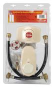Détendeur avec inverseur sans vanne pour propane le kit - Alimentation gaz - Plomberie - GEDIMAT