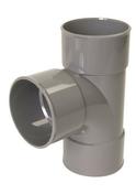 Culotte PVC d'évacuation d'eau usée NICOLL femelle-femelle simple coloris gris UBT188 diam.100mm angle 87°30 - Panneau de structure pour béton armé en 2m40 - Gedimat.fr