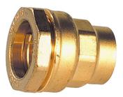 Raccord droit à écrou tournant laiton pour tuyau polyéthylène 20x27 diam.25mm - Faîtière à emboîtement avec clip RESIDENCE coloris ton cévenol - Gedimat.fr