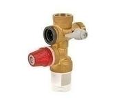 Groupe de sécurité pour chauffe eau vertical 7 bars 20x27 - Kit de filtration Station duplex Vital anticalcaire et anti-impuretés 2 filtres - Gedimat.fr